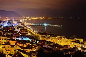 salerno by night