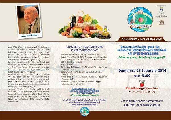 Inauguration of the Association on the Mediterranean Diet