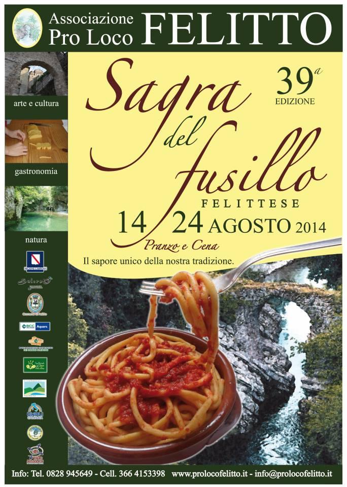 Felitto Festival der Fusillo Felittese 14-24 August